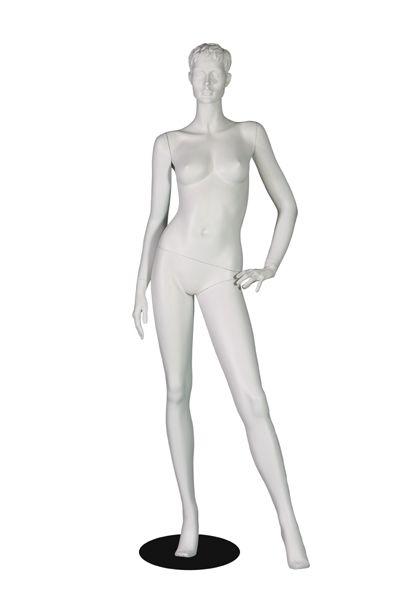 mannequin femme avec t te etal pro d coration fourniture pour magasin. Black Bedroom Furniture Sets. Home Design Ideas