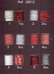 Perles acrylique perles mix 19mm 10 pcs #k24803 coloré rouleau